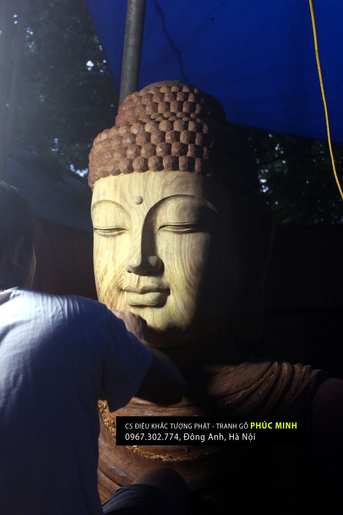 Tượng Phật Thích Ca lối Hoa tông