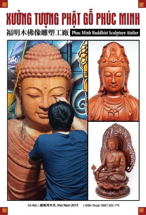 Tạp chí tượng Phật có hồn-tinh xảo-đẹp 20 trang-in màu- đẹp